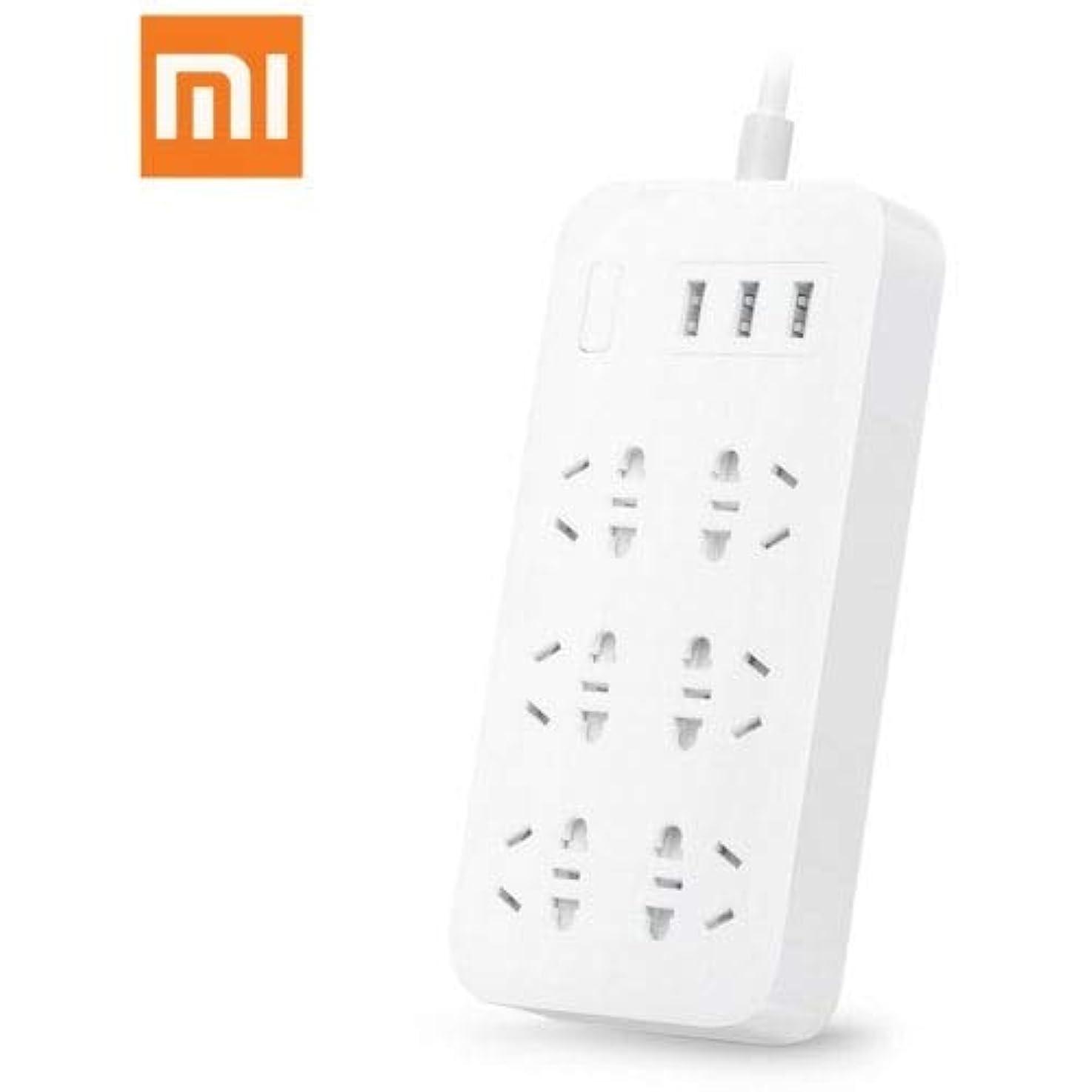 Original Xiaomi CXB6-1QM 6-outlet Power Strip