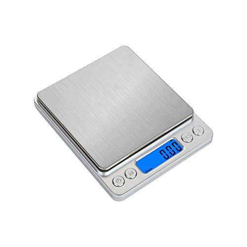 Aiseely Electrical Kitchen Scale,Coffee Scale Food Weight Scales,Digital Scale, Measures in Grams and oz for Home Kitchen Cooking Baking (3kg/0.1g Accuracy)