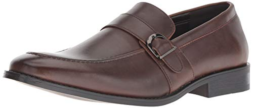 Unlisted by Kenneth Cole Men's Half Time Show Loafer, Brown, 8.5 M US
