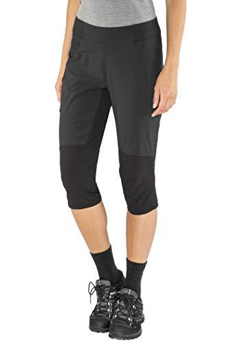 Bergans Fløyen Pantalon 3/4 Femme, Black/Solid Charcoal Modèle S 2020 Shorts