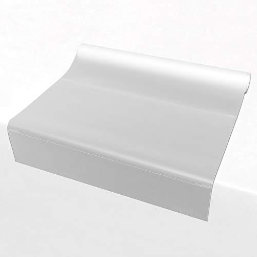 atFoliX Milchglasfolie nach Maß - Lichtdurchlässige Sichtschutzfolie Universal Fensterfolie - Länge und Breite auf Wunsch auswählen