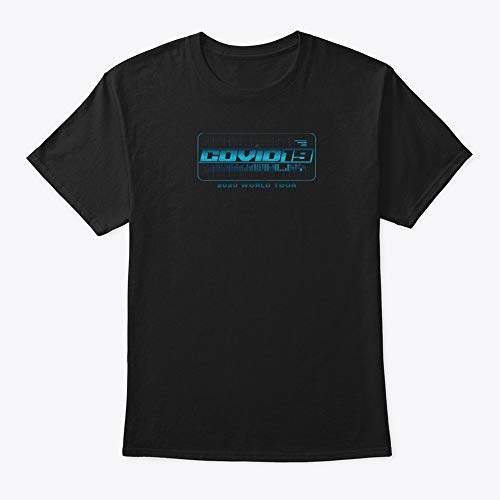 Cóvid19 World Tour Córonavirus Shirt Unisex Tee For Boys Vinatage Shirt Men Womens Retro Trending Graphic