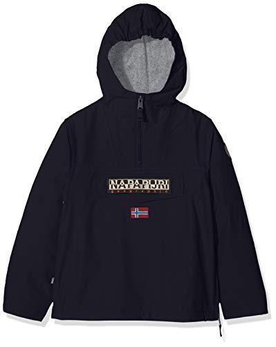Napapijri Rainforest Winter Jacket, Giacca con Cappuccio Bambino, Blu (Blu Marine 176), 162 cm (Taglia Produttore:14 Anni )