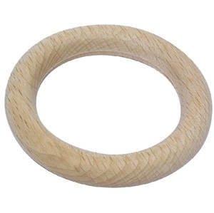 NEU Holzring, natur, Ø 115mm außen, 12mm stark [Haushaltswaren]