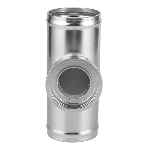 Tubo de válvula de soplado simple Accesorio de coche resistente Adaptador de brida BOV Tubo adaptador de BOV Plata anticorrosión para coche
