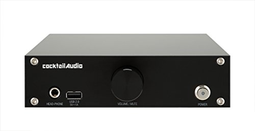 CocktailAudio N15D-0-b HD HiFi Musik Server schwarz