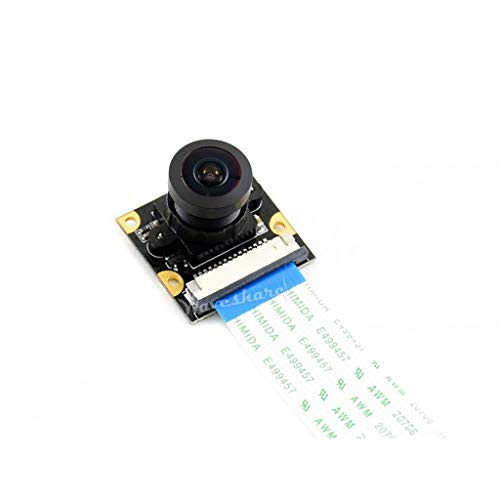 Waveshare IMX219-160 Camera Module Support NVIDIA Jetson Nano Developer Kit with IMX219 Sensor 8 Megapixels 160° FOV Wide Viewing Angle 3280 × 2464