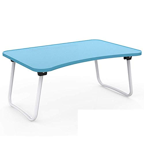 Laptop bureau bureau bed tafeltjes inklapbaar (kleur: groen) blauw