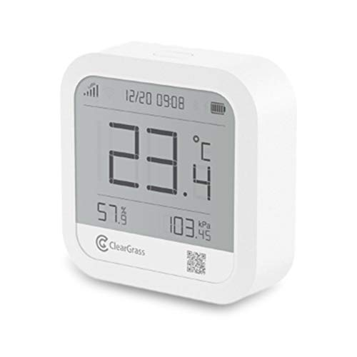 [Upgrade versie] Qingping ClearGrass Draadloze WIFI Smart Thermometer Hygrometer Alarm Klok