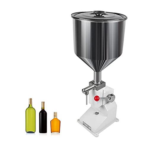 Máquina De Llenado Manual De Crema Líquida, Champú Cosmético Aceite De Miel Perfume Líquido Máquina De Llenado Cuantitativa (5-50Ml)