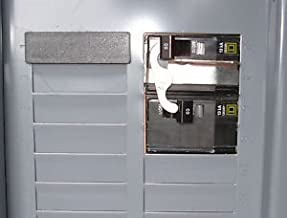 Square D Generator Transfer switch Panel & outlet for up to 10KW Generator