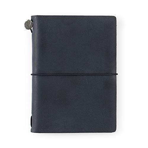 トラベラーズノート パスポートサイズ 限定 カード付 黒 91209658