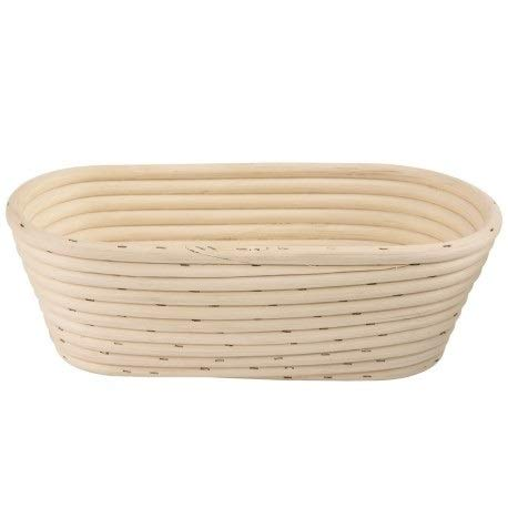 Fermentation Basket Bread Dough Proofing Basket Bread Form Wicker Oval 0.5 kg SC272