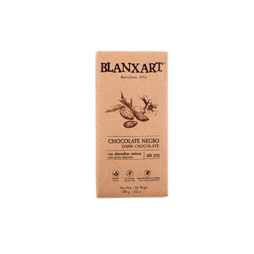 Blanxart Tableta de Chocolate Negro con Almendras - 60% Cacao 1 Unidad 150 g