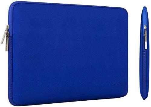 MOSISO Laptop Sleeve Kompatibel mit MacBook Pro 16 Zoll Touch Bar A2141 2020 2019, 15-15,6 Zoll MacBook Pro Retina 2012-2015, Notebook, Wasserabweisend Neopren Tasche mit Klein Fall, Königsblau