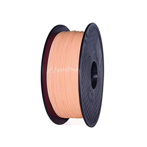 Haute Performance 3D Filament d'impression TPU Filament 1.75mm Souple TPU Souple Filament d'impression Souple (Multicolore en Option) 1kg Utilisé pour l'imprimante 3D et Le Stylo d'impress