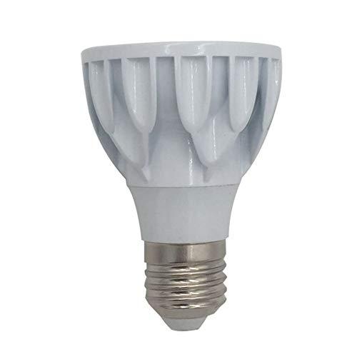 JCMY Bombillas GE Atenuación 8W COB LED PAR20 Detectar Luz Convergente De La Cubierta De Aluminio Fundido A Presión 24 iluminación LED (Color : 220V-240V, Size : Warm White 3000K)