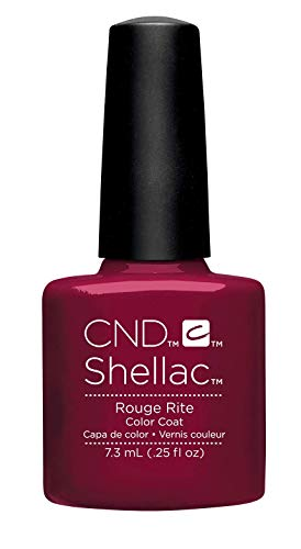 CND Shellac Rouge Rite, 1er Pack (1 x 7 ml)