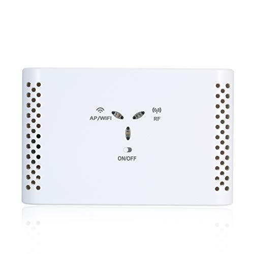 Kecheer Funk Heizungssteuerung, WiFi Smart Thermostat Temperaturregler Empfänger ohne Thermostat für elektrische Fußbodenheizung Wasser