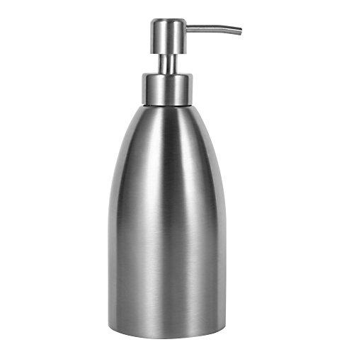 ROSEBEAR Dispenser di Sapone da 500 Ml Distributore di Sapone Liquido Pompa Shampoo per Bagno Scatola per Rubinetto Lavello da Cucina