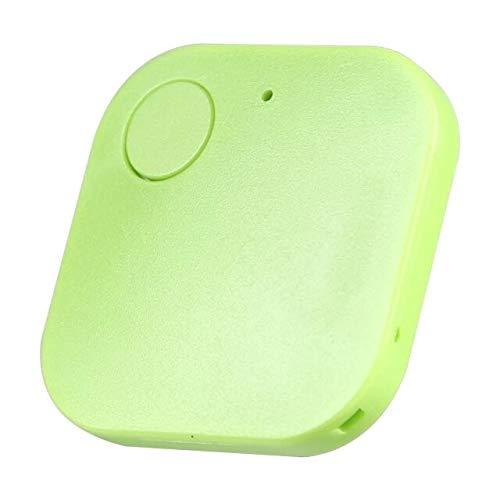 Buscador de llaves verde Localizador Bluetooth Artículo Tracker Finder Dispositivo Para Cartera Teléfono Mascotas Pasaportes Equipaje Anti-perdida Alarma Recordatorio