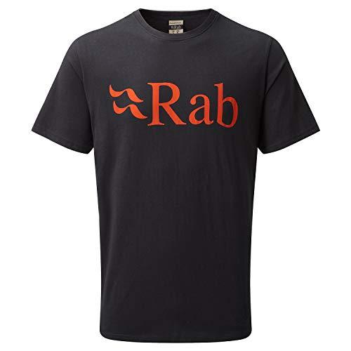 RAB Stance Logo - T-Shirt Manches Courtes Homme - Gris Modèle XXL 2019 Tshirt Manches Courtes