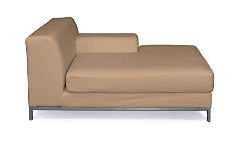 Dekoria Kramfors Recamiere rechts Sofabezug Sofahusse passend für IKEA Modell Kramfors honiggelb