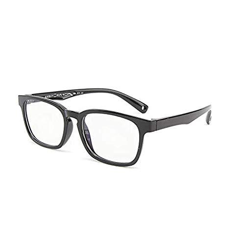 Suertree Anti Blaulicht Brille Kinder Blaulichtfilter Gläser für Computer,TV,Online-Unterricht Brillengestell black