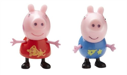Peppa Pig Theme Park Figures 2 pack with Peppa & George