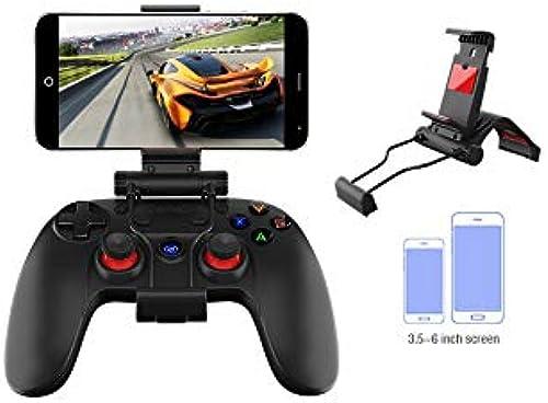 DMMW ASDQ portable bleutooth 4.0 Gamepad, Manette de Jeu sans Fil AoV pour téléphone Mobile (Android   iOS) ( Couleur   G3 Enhanced Edition+Bracket )