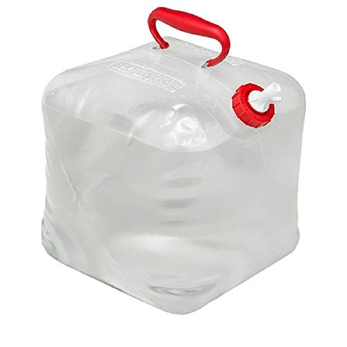 """Reliance Products 5 Gallon Poly-Bagged Fold-A-Carrier Collapsible Water Carrier, Natural, 12.0""""x4.0""""x16.0"""" (5000-13)"""