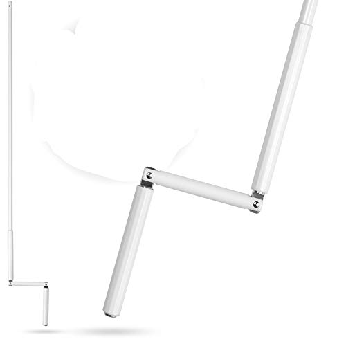 Rolladen Kurbelstange, Kurbel für Rolladen Rollo, Rolladenkurbel für Gelenklager mit Ø12mm Zapfen in 120cm