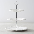 Leila Three Tiered Stand | Pottery Barn