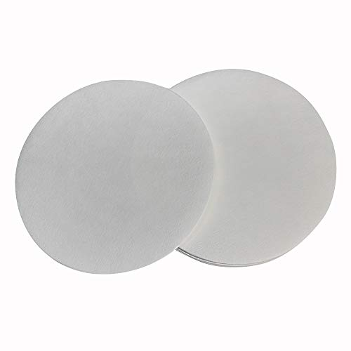 PZRT 1-Pack 7cm Qualitative Filter Paper Fast Speed Round Laboratory Filter Paper Chemical Analysis Industrial Oil Testing Funnel Filter Paper