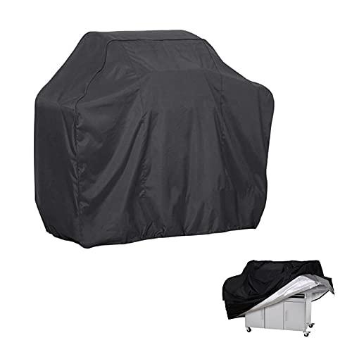 Cubierta para barbacoa, cubierta impermeable para parrilla resistente, tela Oxford 420D, cubierta para barbacoa para quemador grande, a prueba de desgarros, resistente al viento