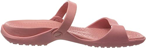Crocs Damen Cleo Sandalen, Pink (Blossom 682), 34/35 EU