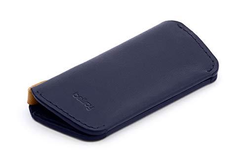 Bellroy・ベルロイ Leather Key Cover Plus Second Edition キーケース 本革(鍵8本まで) - Navy