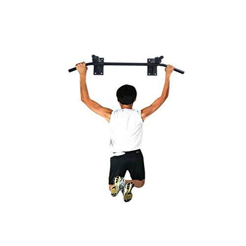 NO LOGO HMLSM Sporttür Reck, Fitness Krafttraining Oberkörpertraining Fitnessgeräte Klimmzüge Innen Reck Wand Einzelne Barren, Hochwertige Geschenke (Farbe : Schwarz, Größe : 97 * 49 * 20cm)