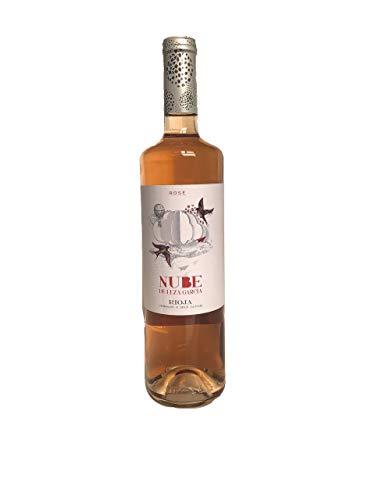 VINO ROSADO ¨CLARETE/BLUSH¨ NUBE Rioja - 6 botellas 750 ml - 4500 ml
