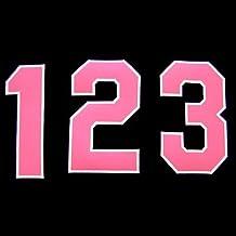 【プロ野球 阪神タイガースグッズ】背番号ワッペン(2014年版・ピンク)種類:7
