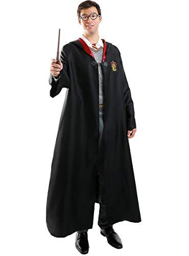 Funidelia | Harry Potter Kostüm OFFIZIELLE für Herren und Damen Größe L ▶ Film und Serien, Zauberer, Gryffindor, Hogwarts - Schwarz
