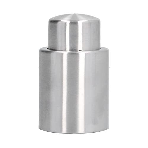 Tapón de botella de vino Tapón de bomba de vacío de silicona portátil de acero inoxidable
