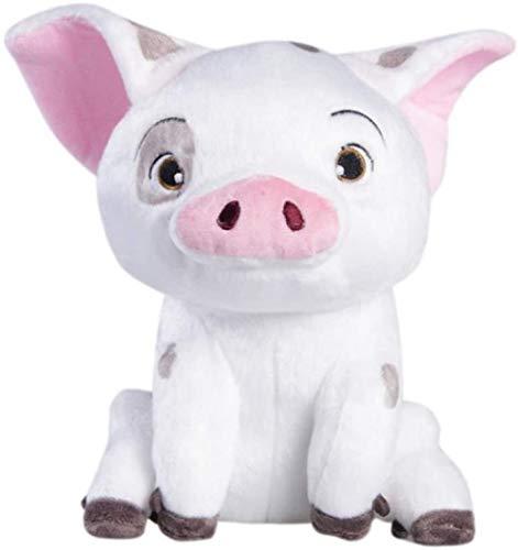 N/Z Soft Toys Pudcoco Movie Moana Pet Pig Pua Stuffed Animals Cute Cartoon Plush Toy Dolls Soft 10cm white