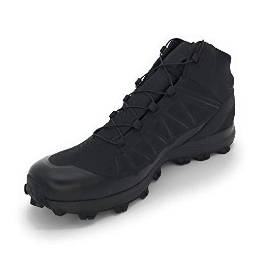 Salomon Men's Speed Assault Military and Tactical Boot, Black/Black/Magnet, 10