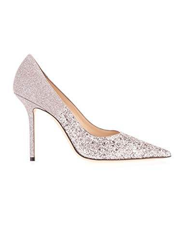 JIMMY CHOO Luxury Fashion Damen LOVE100VLDLIGHTLILAC Silber Pumps | Frühling Sommer 20