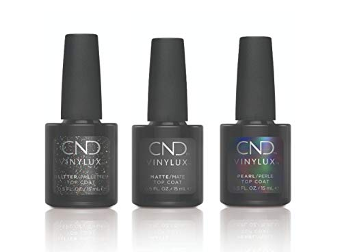 CND Shellac Top Coat Collection Alluring Trilogy