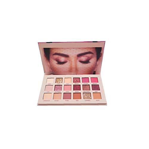 18 Farben Aromas New Nude Lidschatten-Palette Langlebige Multi Reflective Shimmer Matte Funkeln-Augen-Schatten-Verfassungs-Paletten-Make Up Zubehör 1PC