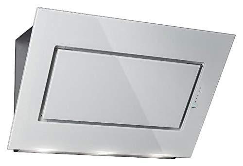Falmec Dunstabzugshaube Design Quasar Wandhaube 80 cm Glas weiß