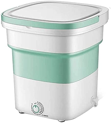 YYANG Lavadora Plegable Portátil Mini deshidratación Mini deshidratación Lavadora Ropa Interior Panty Lavadora Pequeño Mini Puede ser deshidratado