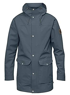 Fjallraven - Men's Greenland Eco-Shell Jacket, Dusk, Medium from Fjallraven